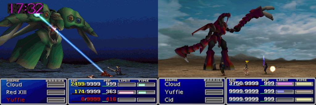 final fantasy vii emerald ruby weapon