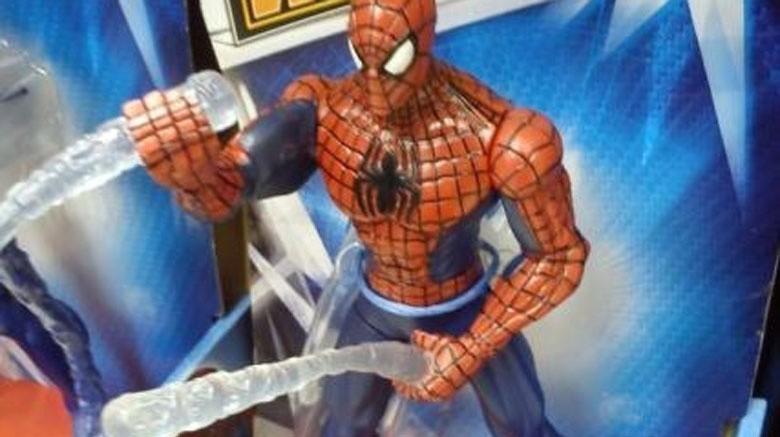 homem-aranha brinquedo marvel