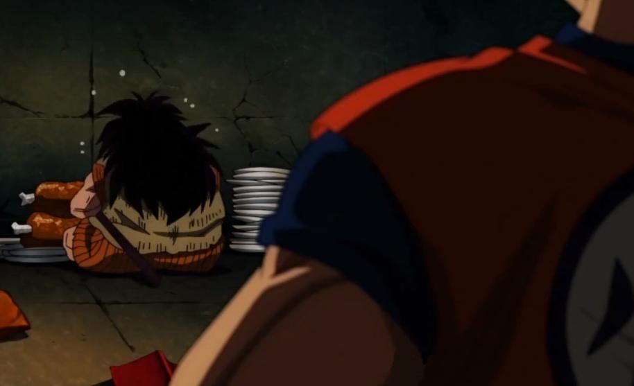 Goku e Yajirobe