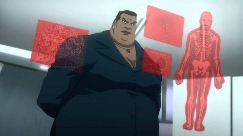 amanda waller esquadrão suicida dc animação