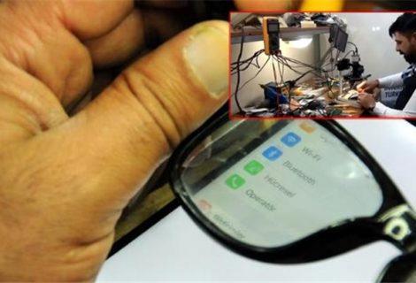 Conheça o celular com tela 'invisível', que só pode ser vista pelo dono