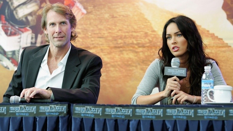 michael bay e megan fox 2