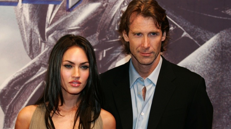 michael bay e megan fox