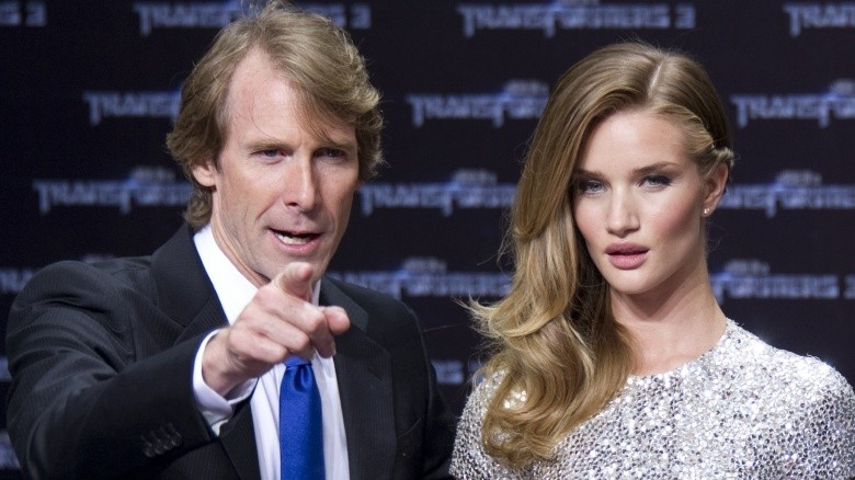 michael bay e rosie huntington-whiteley