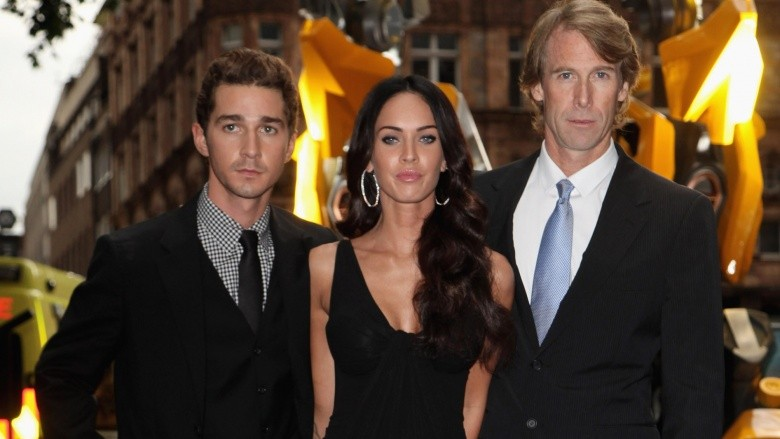 michael bay shia labeouf e megan fox