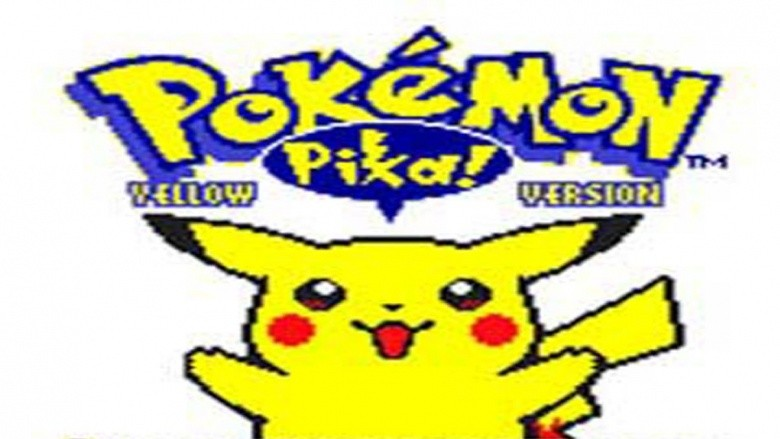 pikachu pokemon yellow