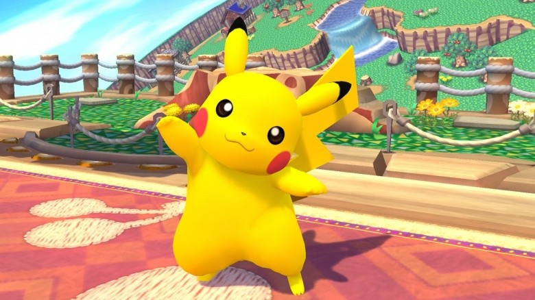 pikachu super smash bros