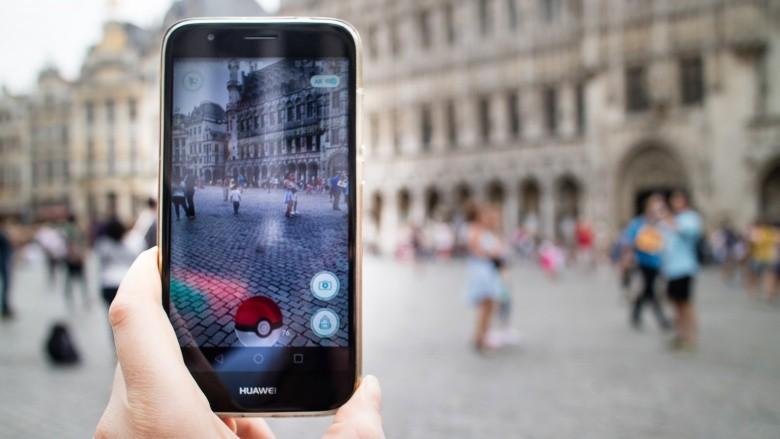 pokémon go celular rua