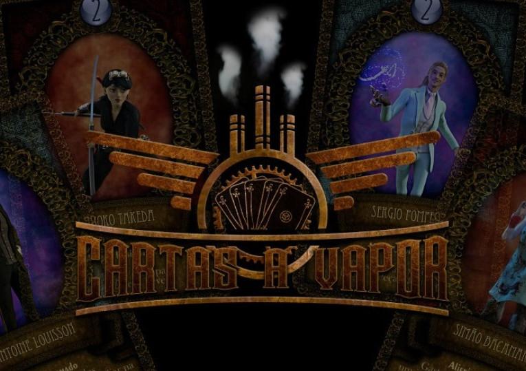 Conheça Cartas a Vapor, o card game steampunk