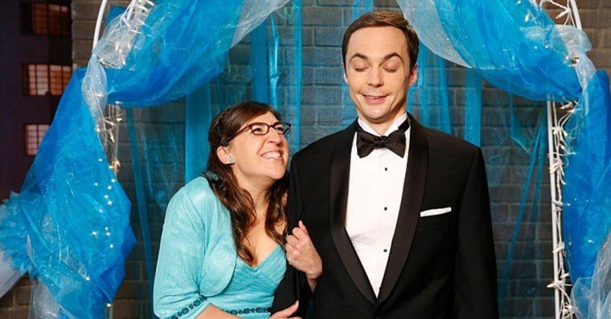 Big Bang Theory: veja novas imagens do casamento de Sheldon e Amy
