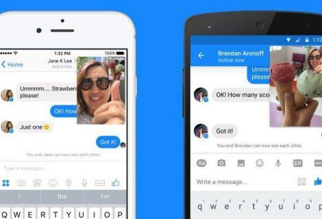Facebook 'copia' Snapchat e lança bate-papo por vídeo