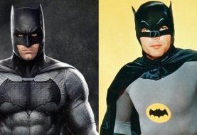 Adam West provoca Ben Affleck e diz que ele é o Batman original