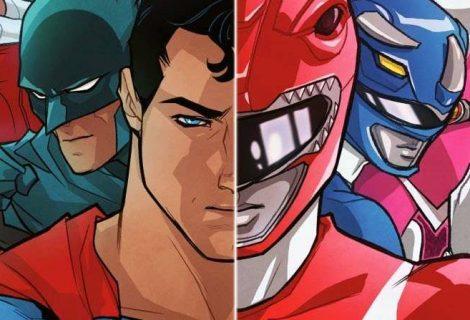 Liga da Justiça e Power Rangers vão se encontrar em HQ da DC
