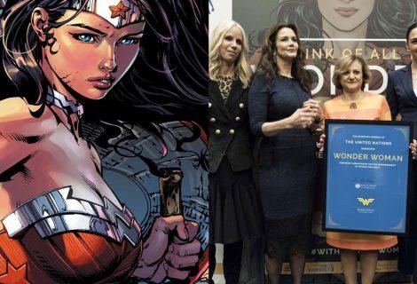 Mulher-Maravilha vira embaixadora da ONU pelos direitos femininos
