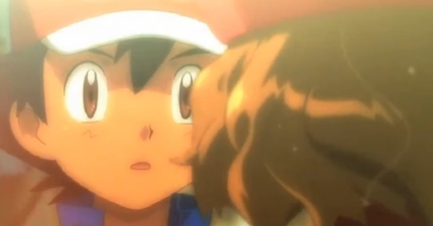 Ash Ketchum dá, enfim, o primeiro beijo dele no anime de Pokémon