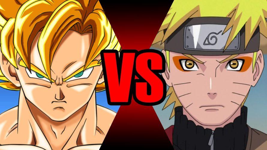 Goku vs. Naruto: quem venceria esta luta?