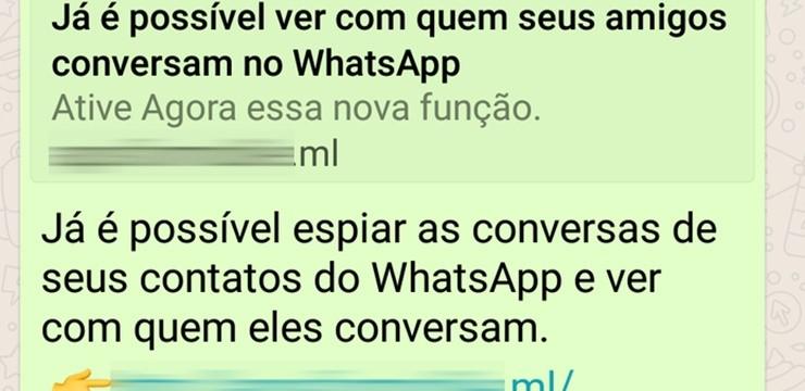 Cuidado: novo golpe do WhatsApp 'promete' funcionalidade espiã