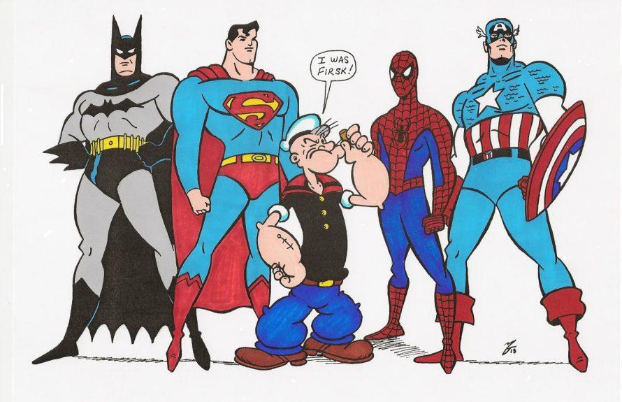 Saiba quais foram os primeiros super heróis da história