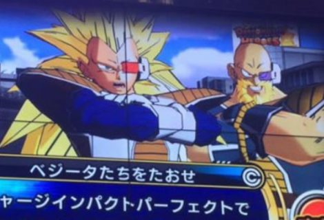 Arcade de Dragon Ball mostra visual de Nappa como Super Sayajin