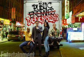 Os Defensores reunidos em primeiras imagens oficiais da série