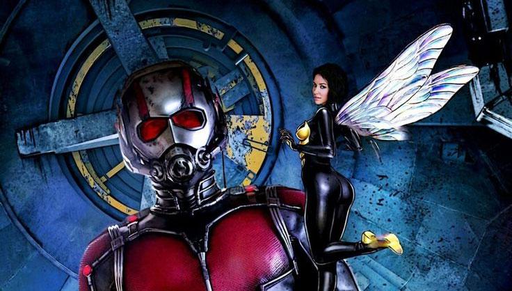 Homem-Formiga e a Vespa: imagem oficial revela novos uniformes
