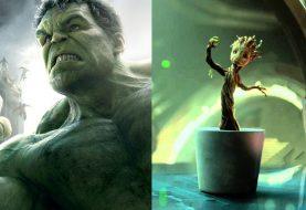 Hulk e Groot podem ter batalha em Vingadores: Guerra Infinita