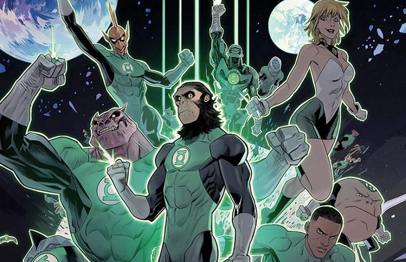 Lanterna Verde e Planeta dos Macacos farão crossover nos quadrinhos