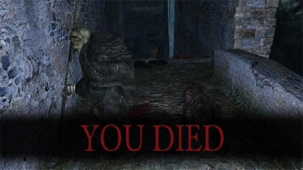 dark souls game over