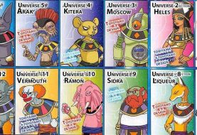Imagens dos Deuses da Destruição de Dragon Ball Super são divulgadas