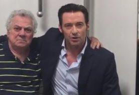 Hugh Jackman publica vídeo ao lado do dublador de Wolverine