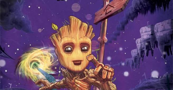 Marvel produzirá nova série em quadrinhos de Baby Groot