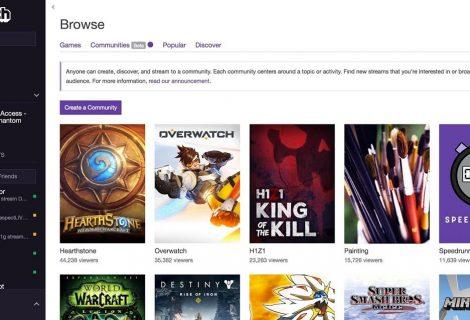 Twitch apresenta Communities, ferramenta para descobrir novos conteúdos