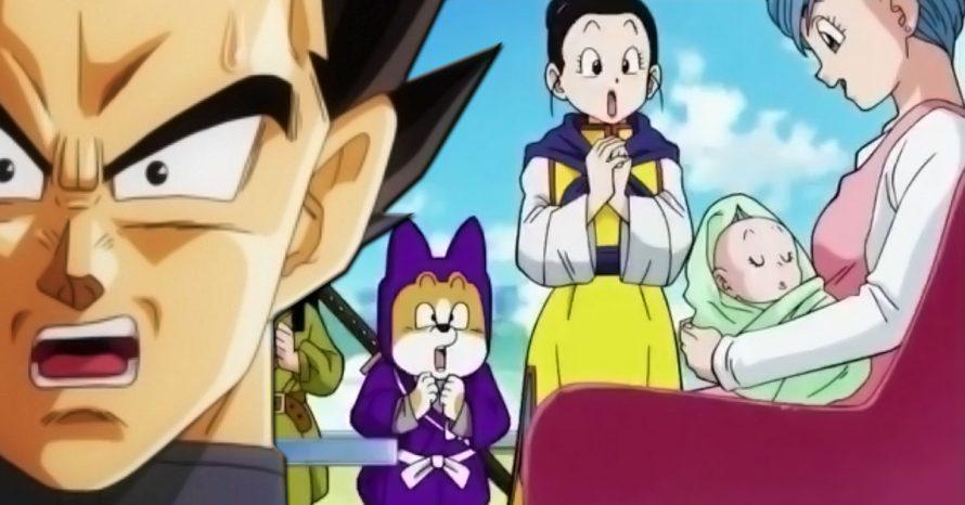 Veja as reações da internet para a cena do novo bebê de Bulma em Dragon Ball Super
