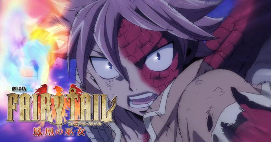 Fairy Tail: Dragon Cry está de volta com outro trailer intenso!
