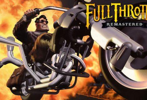 Remaster de 'Full Throttle' chega em Abril
