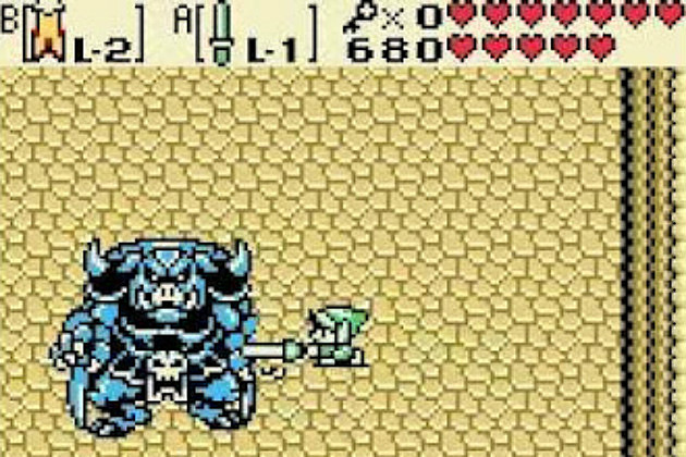 The Legend of Zelda Oracle of Seasons Ages