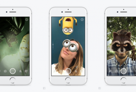 Facebook muda app e apresenta Stories, Direct e novos efeitos para câmera