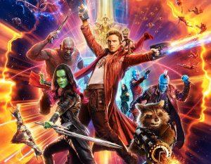 guardiões da galáxia 2 poster