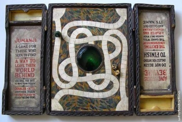 Lembra do jogo de tabuleiro de Jumanji? (Foto: divulgação)
