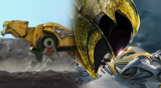 power ranger amarela zord