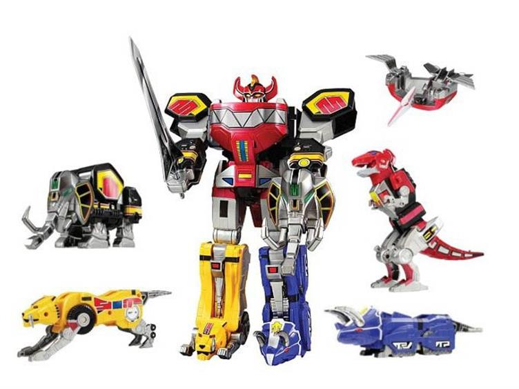 Top 7: os zords mais clássicos dos Power Rangers