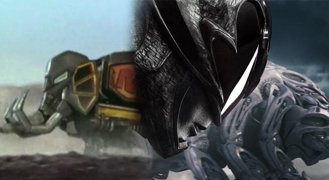 power ranger negro zord