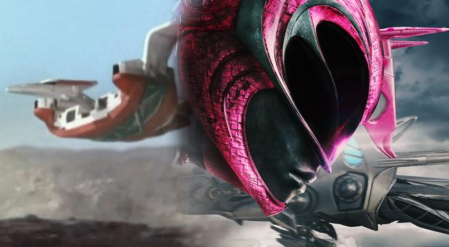 power ranger rosa zord