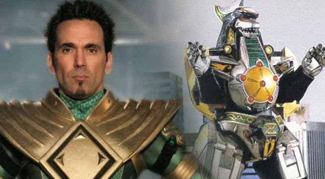power ranger verde dragonzord