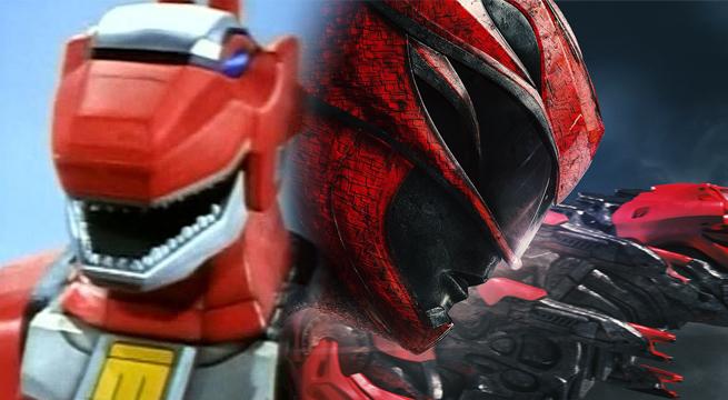 power ranger vermelho zord