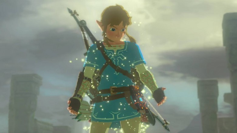 the legend of zelda breath of the wild link