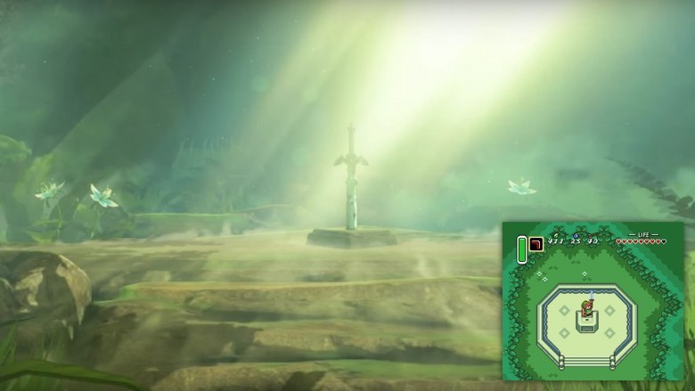 the legend of zelda breath of the wild master sword