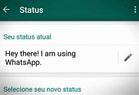 Status antigo do WhatsApp é retomado, mas imagens que somem são mantidas