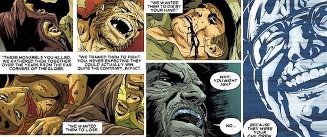 wolverine matou seus filhos