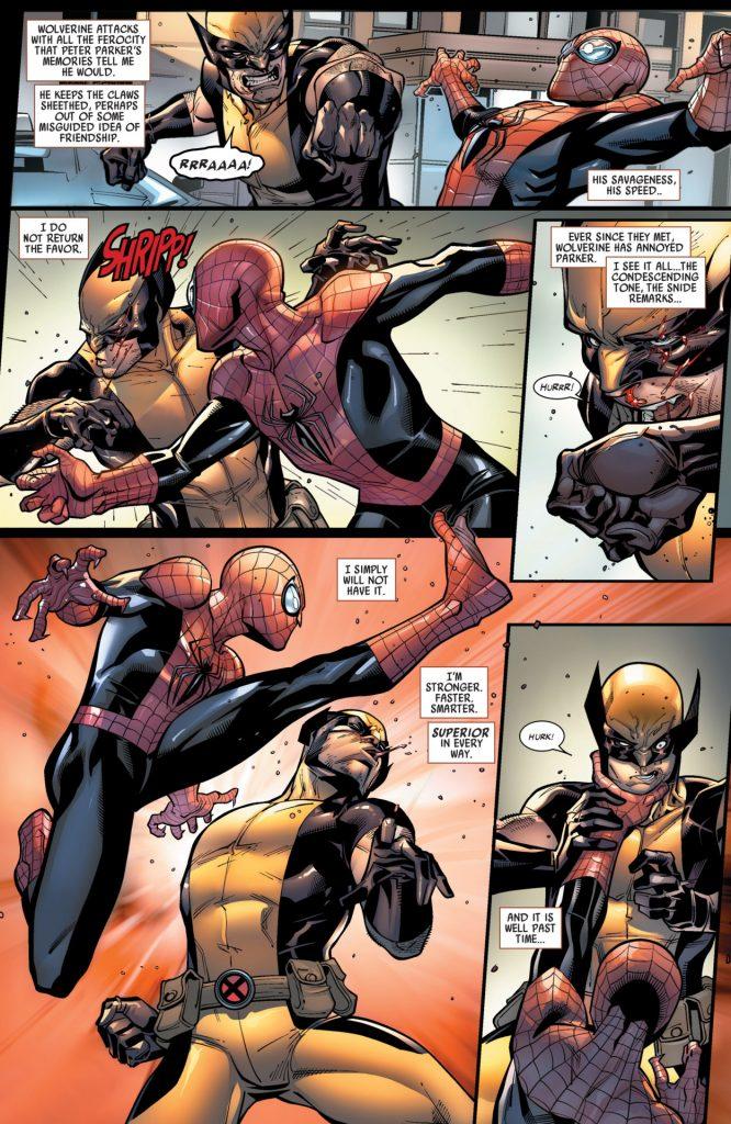 wolverine vs homem-aranha